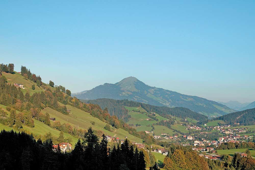 Blick auf die Gemeinde Niederau in Wildschönau
