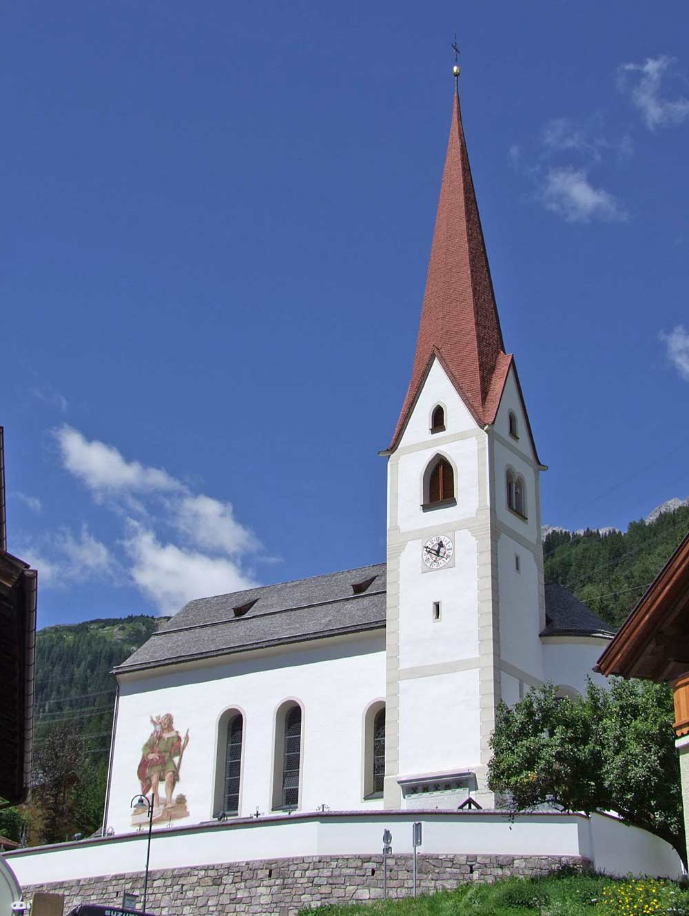 Katholische Pfarrkirche Heiliger Jakobus der Ältere in St. Anton am Arlberg