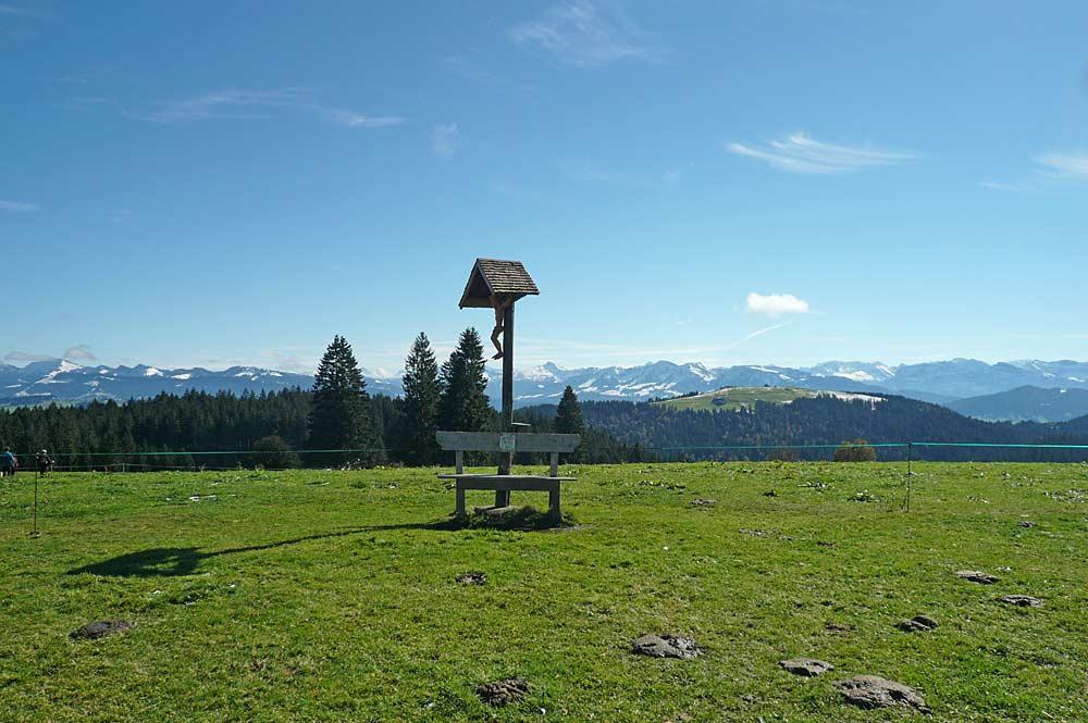 Gipfel des Hochbergs bei Eichenberg
