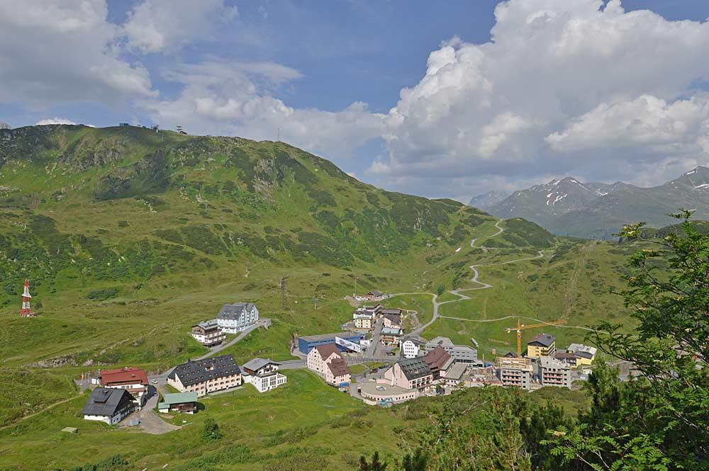 Ortsansicht von St. Christoph am Arlberg