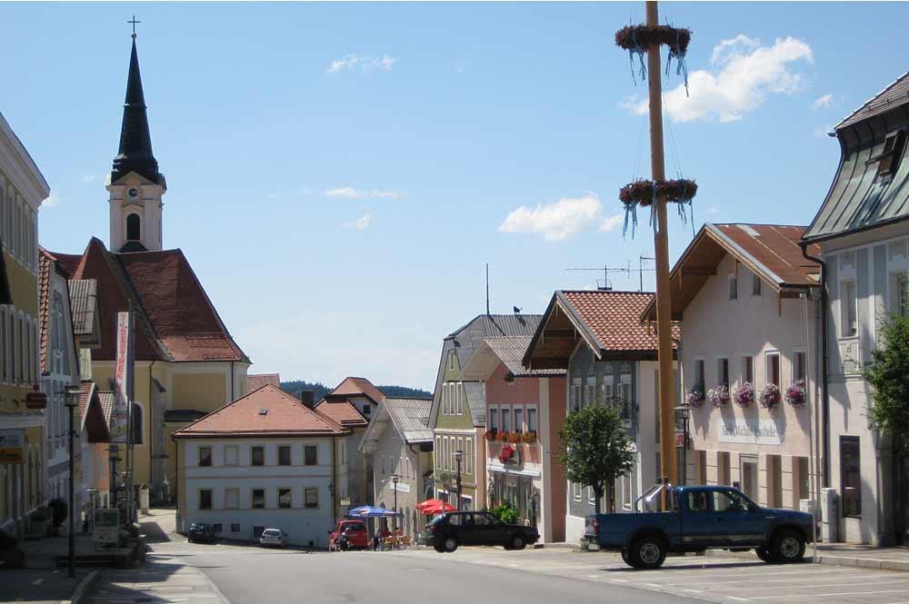 Marktplatz von Untergriesbach