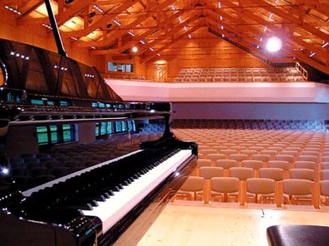 Blick in den Festsaal der Schubertiade