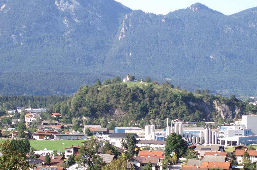 Blick auf das Grattenbergl in Kirchbichl
