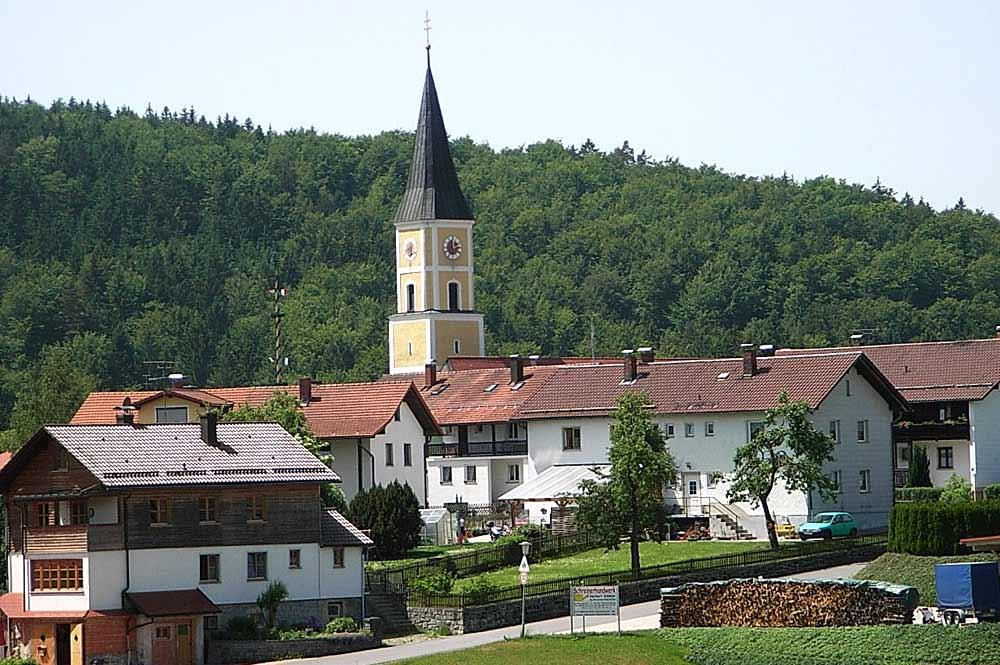 St. Markus mitten in Thurmansbang