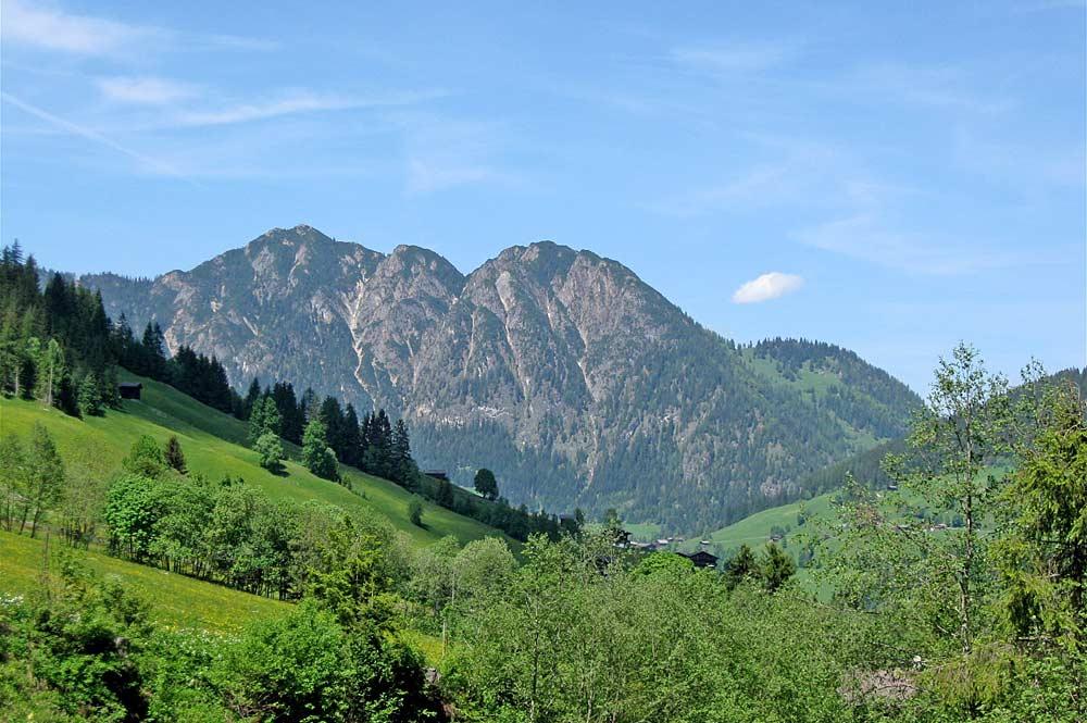 Blick auf den Berg Gratlspitz