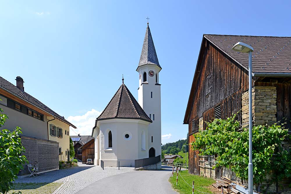 Pfarrkirche zum Heiligen Magnus in Röns