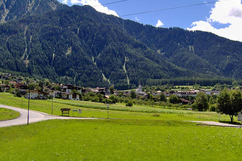 Aufnahme der Gemeinde Sautens in Tirol