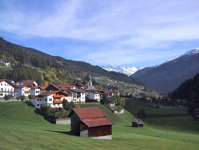 Ortsansicht von Flirsch am Arlberg