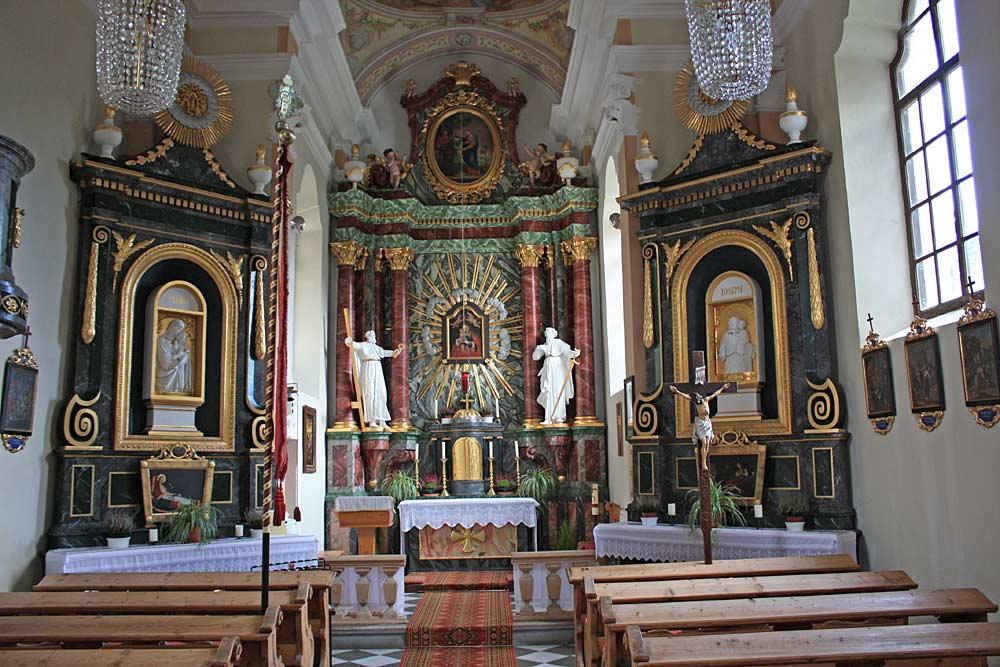 Katholische Filialkirche Maria Heimsuchung