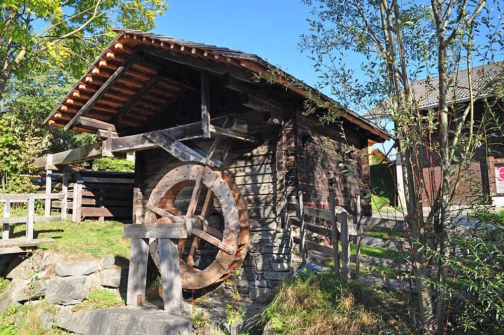 Zopp-Mühle im Freilichtmuseum Oberlienz