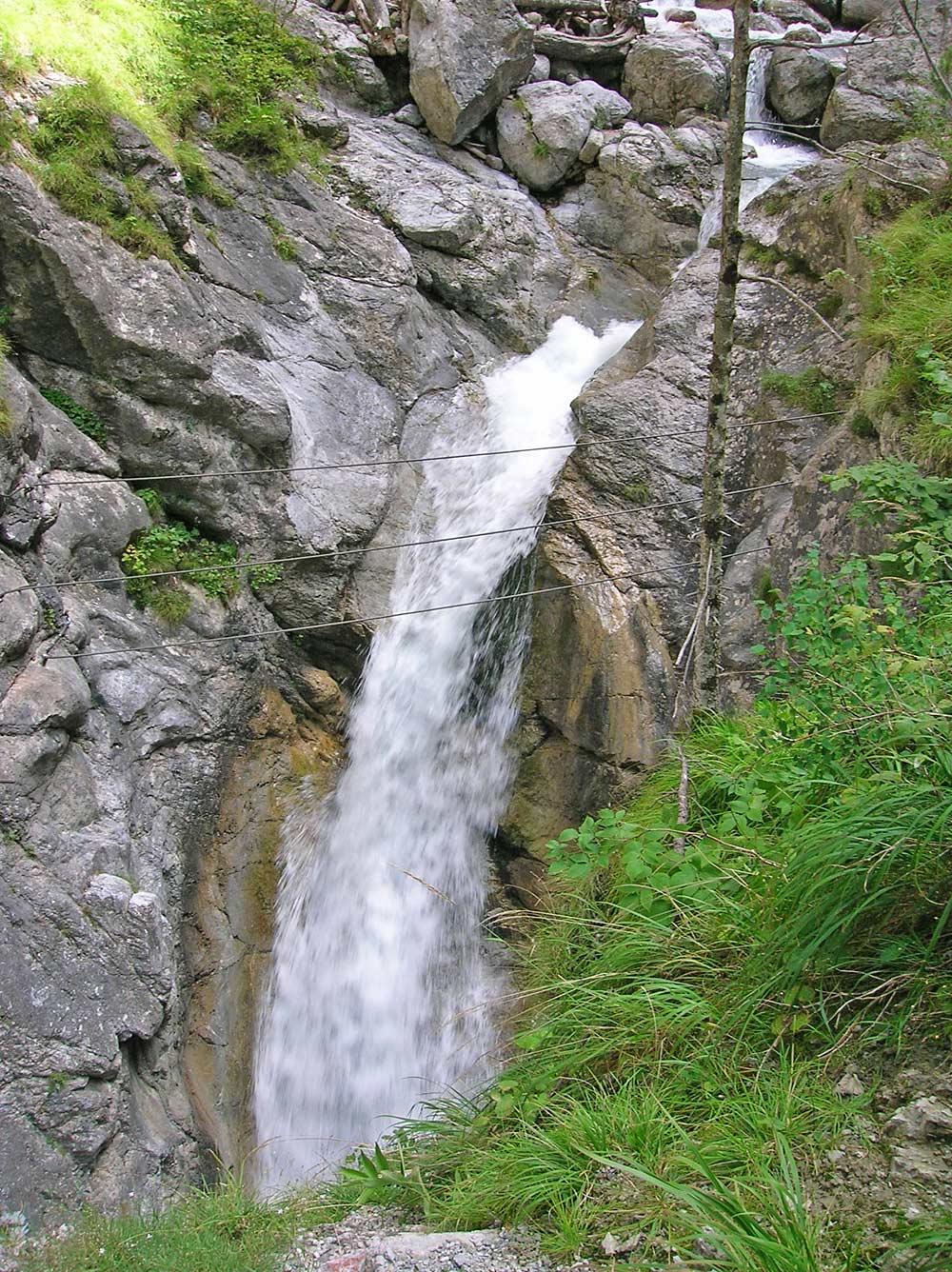 Wasserfall in der Galitzenklamm