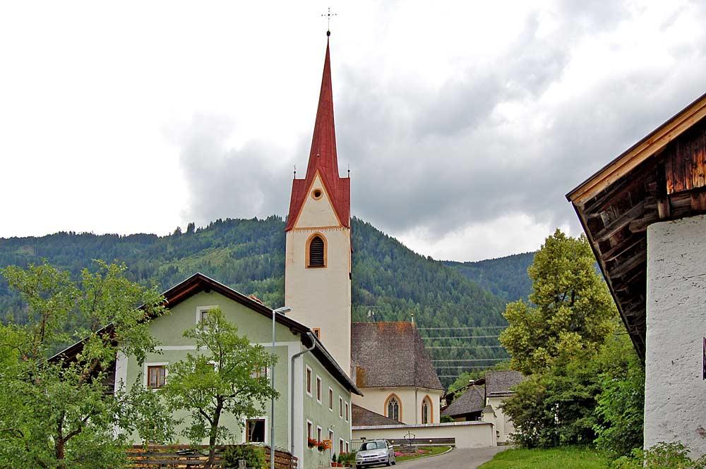 Kath. Pfarrkirche St. Bartlmä in Gaimberg