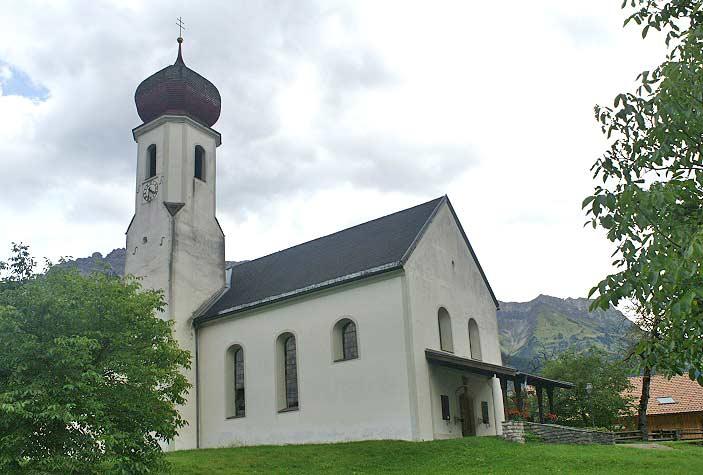 Expositurkirche Hl. Johannes der Täufer in Vorderhornbach