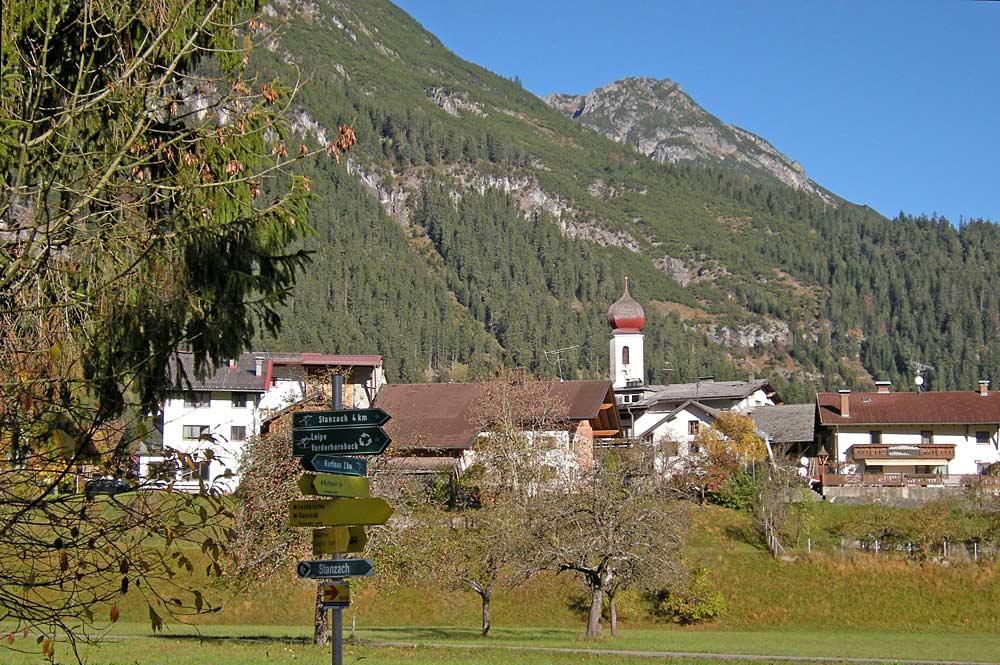 Blick auf die Gemeinde Vorderhornbach