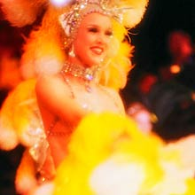 Showgirl in Vegas