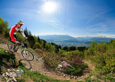 at Nordkette Singletrail in Innsbruck, Austria - photo by ...