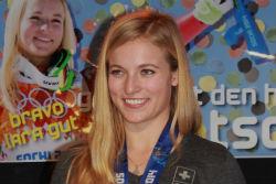 Skirennläuferin Lara Gut