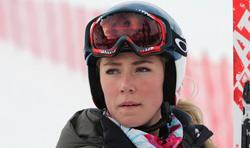 Skirennfahrerin Mikaela Shiffrin