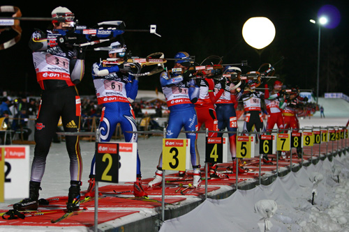 Biathlon WM in Ruhpolding