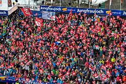 Publikum in Wengen