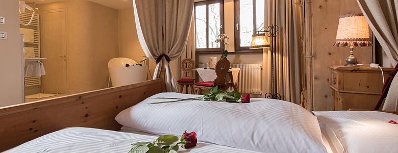 Hochzeitszimmer im Hotel Kematen