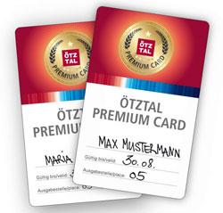 Die Ötztal Premium Card