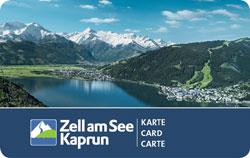 Zell am See-Kaprun Karte