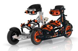 Die Cross Skate Modelle vX Solo und vX Twin der Firma Skike