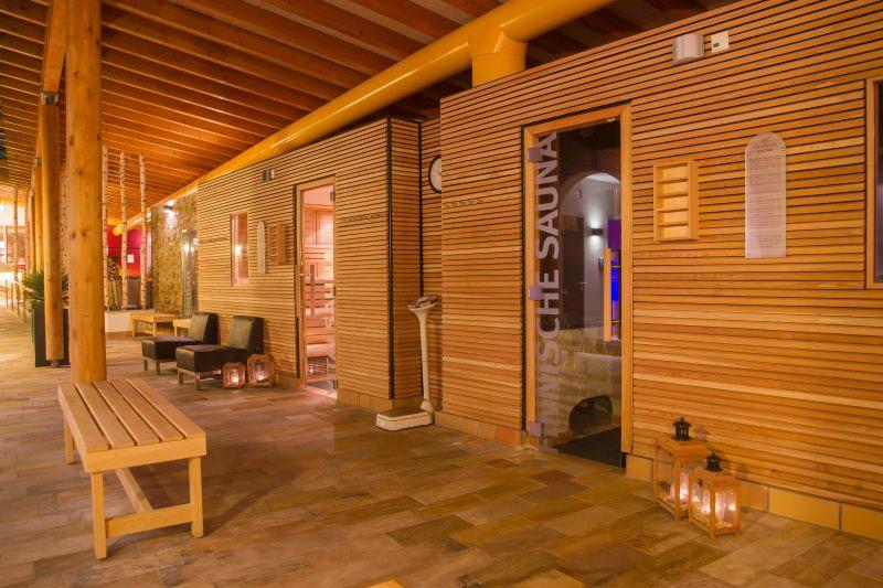 Saunabereich des Erlebnisbades Wonnemar