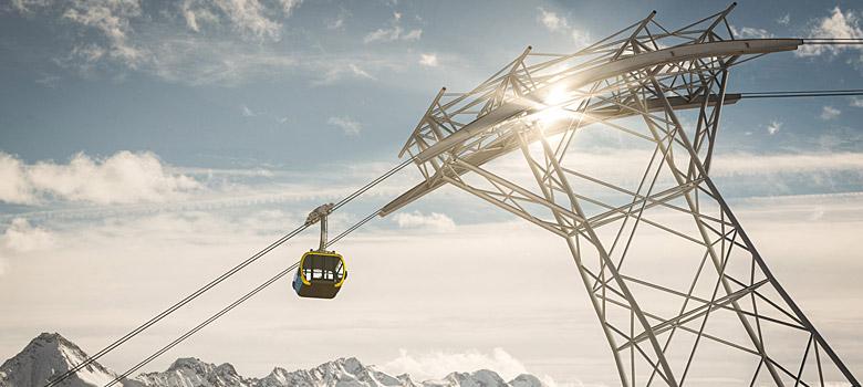 Neue Penkenbahn 3S in Mayrhofen