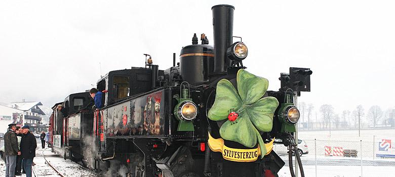 Dampflok der Zillertalbahn
