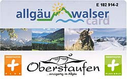 Oberstaufen Plus Golf Karte