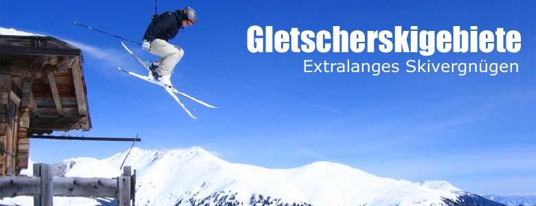 Extralange Skifahren in den Alpen