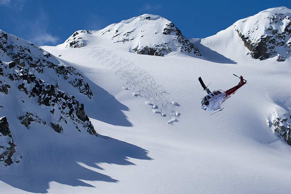 Heli-Skiing Whistler Mountain