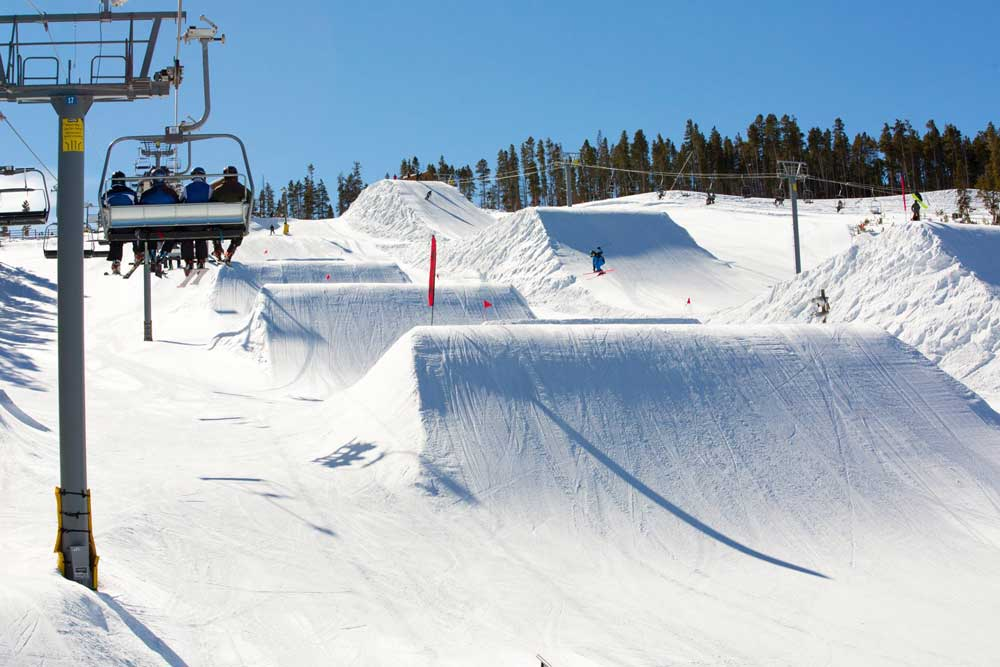 Snowpark in Keystone