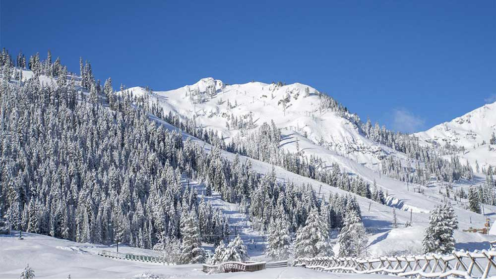 Skigebiet Squaw Valley