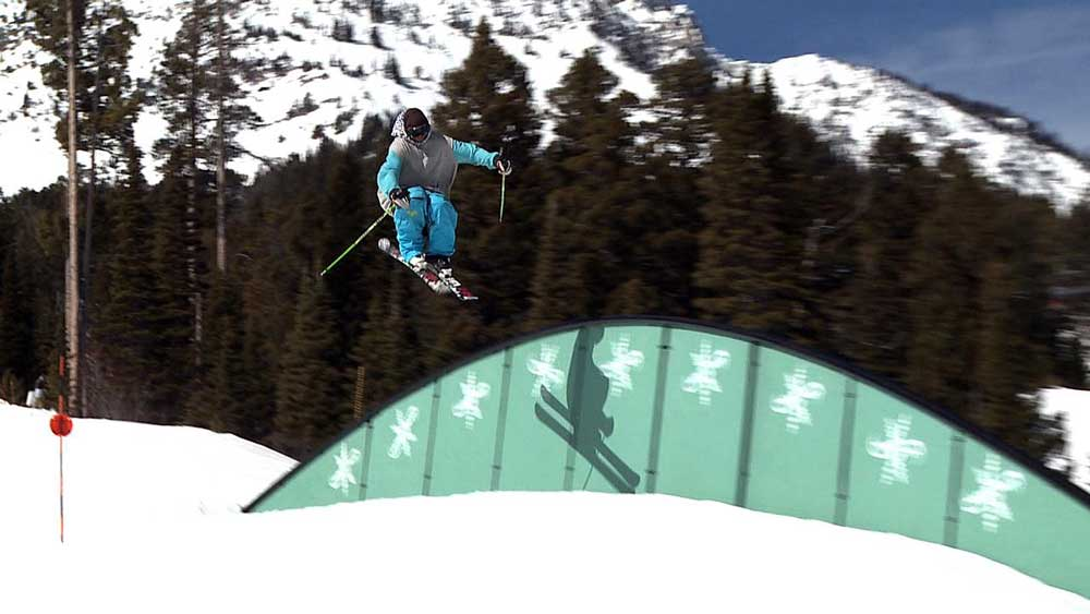 Terrain Park in Bridger Bowl