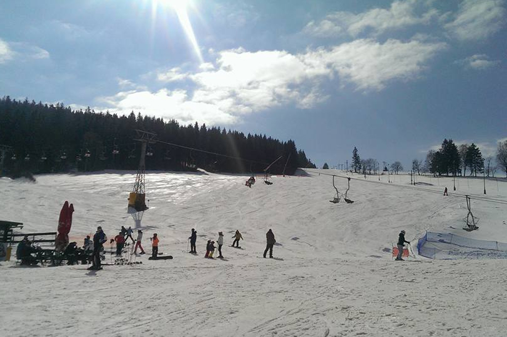 Pistenpanorama Skicentrum Destne