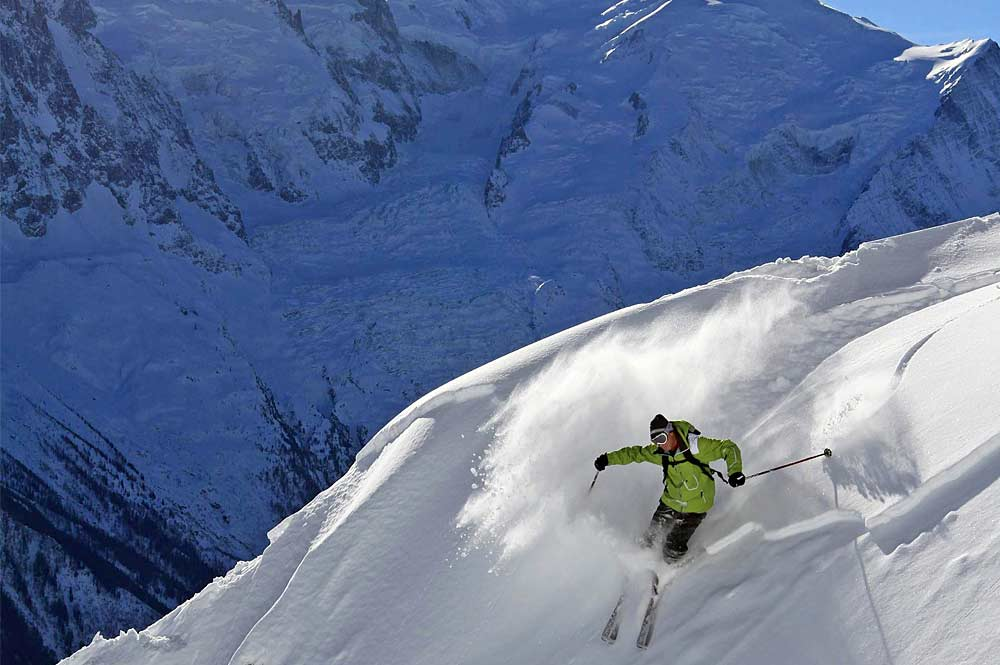 Freerider in Chamonix
