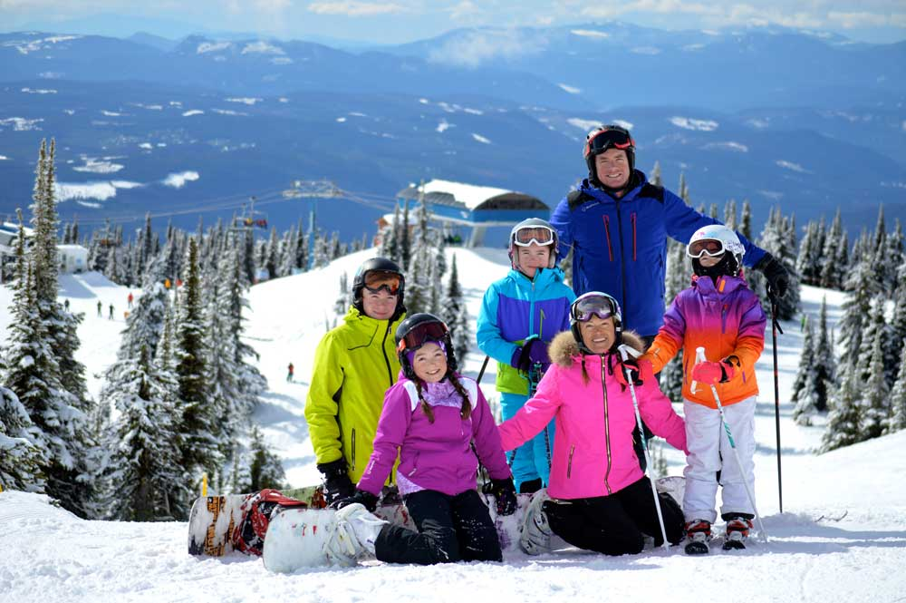 Family in Big White