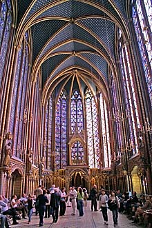 Glasfenster von Sainte-Chapelle