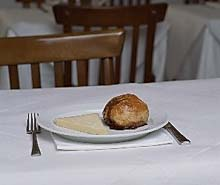 Eccles Cake & Cheese im St. John
