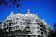 Casa Mil&agrave / La Pedrera