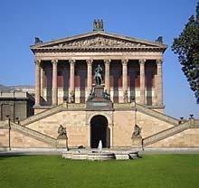 Die Alte Nationalgalerie auf der Museumsinsel