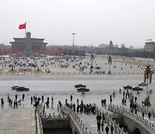 Blick &uuml;ber den Tian&#145;anmen-Platz