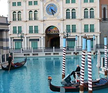 Gondeln im Venetian