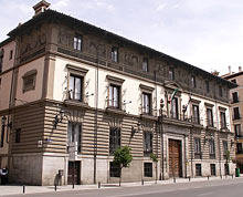 Der Palacio del Duque de Abrantes in der Calle Mayor