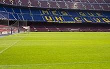 Camp Nou in Barcelona