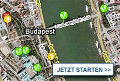 Stadtplan Budapest starten
