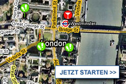 Stadtplan London starten